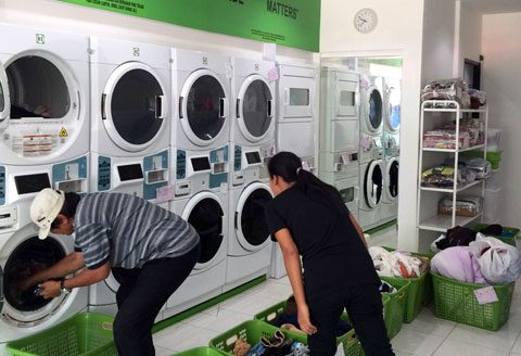 The Coin Laundry Room Your Personal Hygienic Laundry Cleaner Faster Cheaper